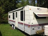 1991 24 foot Terry Resort Travel Trailer ( NON SMOKING FAMILY)