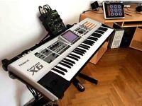 Roland FANTOM X6 + Audio track expansion