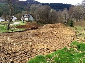BUILDING PLOT HALF AN ACRE FORSALE INVERMORISTON HIGHLANDS WITH FULL PLANNING PERMISSION.