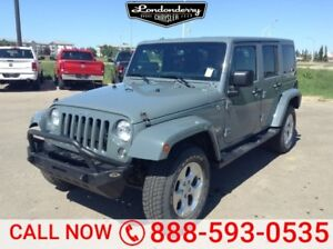 2014 Jeep Wrangler Unlimited 4WD UNLIMITED SAHARA Accident Free,