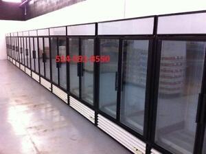 TRUE Congelateurs Freezer Commercial 2 portes Vitree Glass Doors