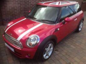 Pink Mini Cooper D