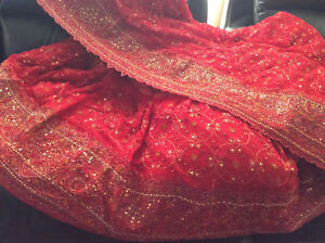 traditional indian pakistani bridal dress/wedding dress/langha