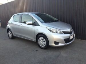 2012 Toyota Yaris NCP130R YR Silver 5 Speed Manual Hatchback Phillip Woden Valley Preview