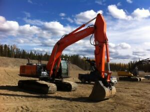 Hitachi 250 Excavator Owner / Operator For Hire