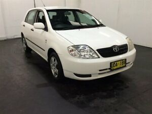 2003 Toyota Corolla ZZE122R Ascent White 4 Speed Automatic Hatchback Cardiff Lake Macquarie Area Preview