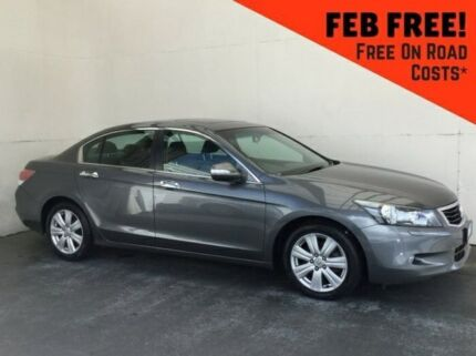 2010 Honda Accord 8th Gen MY10 V6 Luxury Grey 5 Speed Sports Automatic Sedan