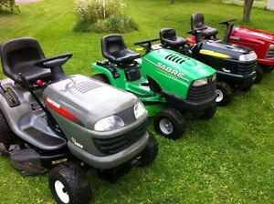 LAWN TRACTOR WANTED**FAST CASH**FAST PICK UP**