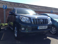 2010 Toyota landcruiser lc4 auto diesel, 8 st leathers