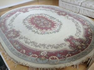 Exquisite Oval WOOL INDIAN RUG