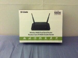 Wireless Dual Band Router N600 D-LINK