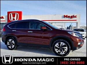 2015 Honda CR-V Touring   LEATHER   HEATED SEATS   REMOTE START