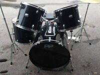 PP drumkit for sale brill condition ..