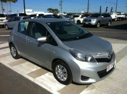 2013 Toyota Yaris NCP130R YR Silver 4 Speed Automatic Hatchback Gladstone Gladstone City Preview