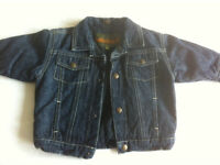 TIMBERLAND BABY BOYS PADDED DENIM JACKET 6 months New condition