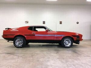 1973 Mach 1 Mustang Great Shape