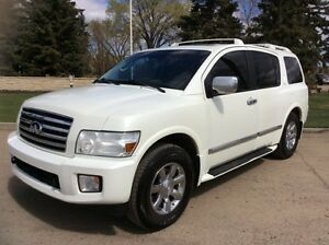 2007 Infiniti QX56, NAVI, 4X4, LEATHER, ROOF, $12,500