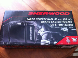 SHER-WOOD HOCKEY BAG NEW IN BOX. $30