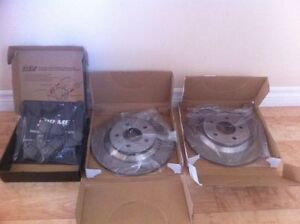 2006-2012 Mazda 5 Rear Brake Rotors and Pads