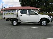 2011 Mitsubishi Triton MN GLX White 5 Speed Automatic Dual Cab Gosnells Gosnells Area Preview