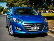 2015 Hyundai i30 GD4 Series II MY16 Active Blue 6 Speed Sports Automatic Hatchback Hendon Charles Sturt Area Preview