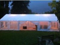 Sunshine Marquee Hire - Party tent - Gazebo - tables - chairs