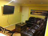 BASEMENT SUITE FURNISHED NW (SEPT.1)
