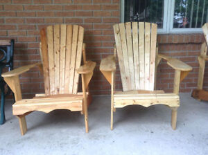 Wooden Muskoka Chairs Windsor Region Ontario image 1