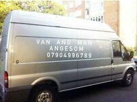 Man and van removal service and rubbish clearance service short notices service 24/7