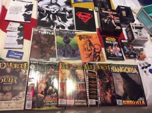 huge lot of comiccon and nerd block merchandise star wars buffy
