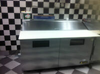 Tow Refrigerated Prep Teble
