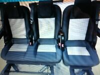 Van rear seats
