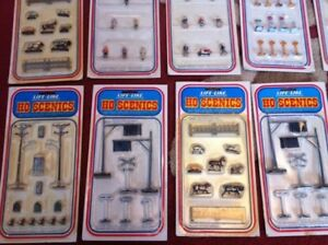 HO Scenics Train Set Accessories - Assortment