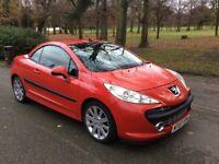 PEUGEOT 207 1.6 16V GT THP (red) 2007