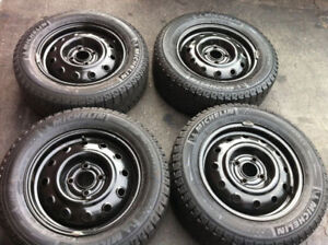 Hyundai Accent Michelin X Ice Winter Tires With Rims