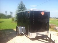 Brand New 5x10 Enclosed cargo trailer
