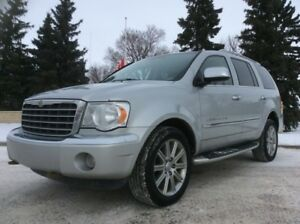 2008 Chrysler Aspen, LIMITED/AWD, LEATHER/ROOF, NAVI/DVD, $7,000