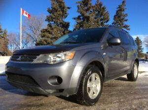 2007 Mitsubishi Outlander, LS-PKG, AUTO, AWD, LOADED, ROOF!