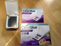 Accurate Clearblue Advanced Fertility Monitor and a few sticks!
