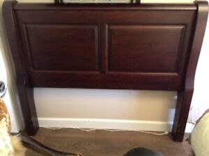 Double bed solid wood headboard for sale $80.00