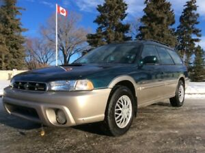 1999 Subaru Legacy Outback, LIMITED, AUTO, AWD, LEATHER, ROOF!
