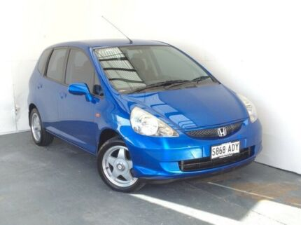 2005 Honda Jazz GD MY05 VTI Blue 5 Speed Manual Hatchback Mount Gambier Grant Area Preview