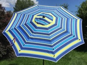 Umbrella with Cover 9ft Strong 8 Ribs Premium Quality