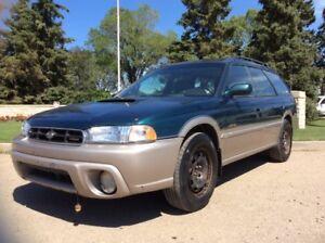 1999 Subaru Legacy Outback, LIMITED, AUTO, AWD, LEATHER, ROOF!