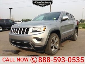 2015 Jeep Grand Cherokee 4WD LIMITED LUXURY Accident Free,  Navi