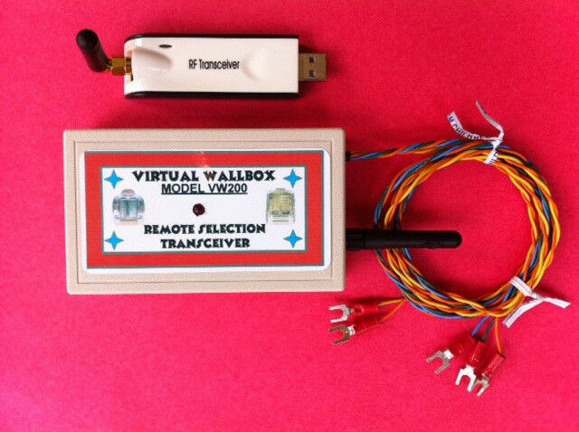 Virtual Wallbox VW200 for Vintage Seeburg Jukeboxes to Control Them Wirelessly
