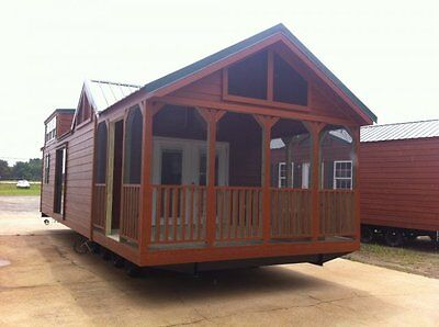 2019 National 14x40 Cabin Tiny Home Park Model Rv Parks-campgrounds Nationwide