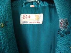 Luxurious, Longevity lounge coat made in Hong Kong