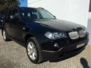 2010 BMW X3 E83 MY10 xDrive20d Steptronic Lifestyle Black 6 Speed Automatic Wagon Glendale Lake Macquarie Area Preview