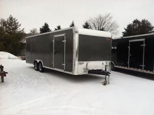 New 102 x 24 Enclosed Car Hauler